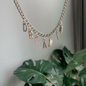 custom handmade chain necklace